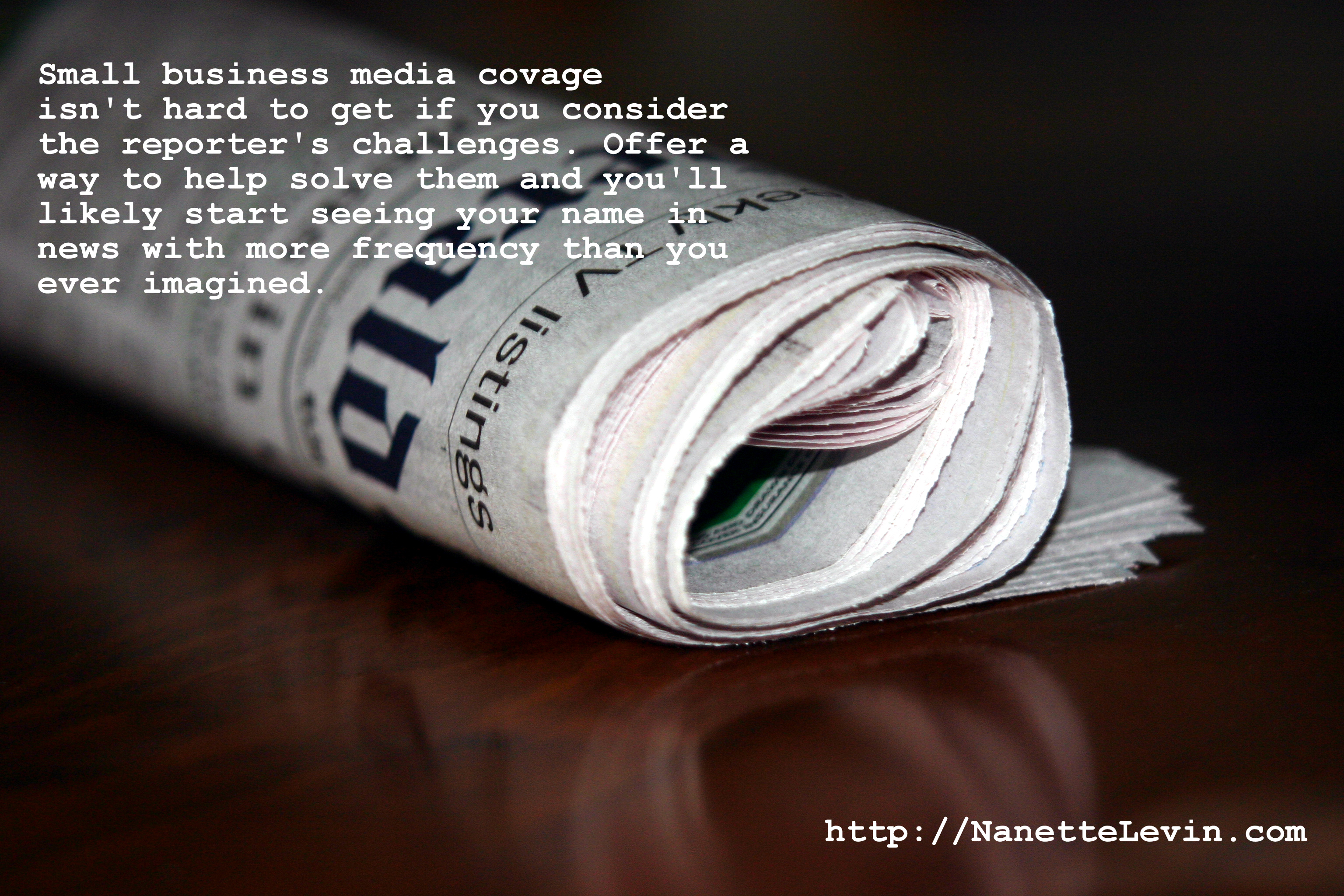 small business media coverage tips