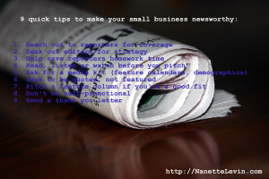 small business media coverage
